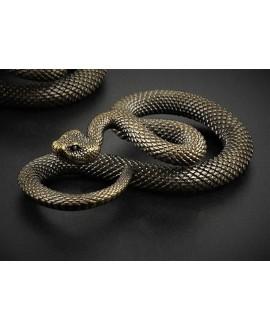 Colgante serpiente 53x15mm, LATÓN