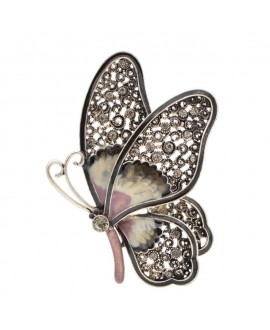 Broche mariposa 78x62mm