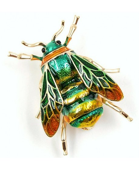 Broche  insecto  33x22mm