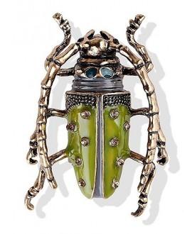 Broche escarabajo 45x40mm