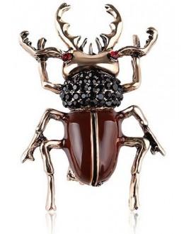 Broche escarabajo 45x35mm