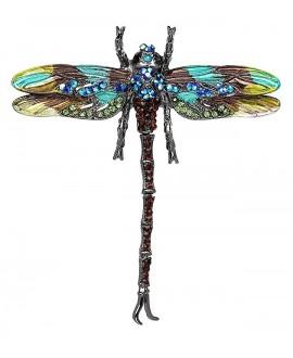 Broche o colgante libélula 86x75mm