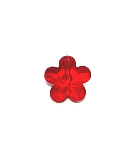 Entre-pieza flor roja 6mm, paso 1mm