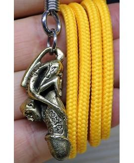 Amuleto/talismán Colgante Estatua de mono Paladkik, 42mm de latón
