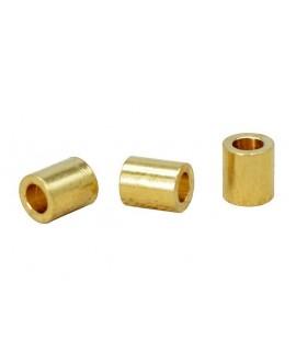 Tubo de latón 4x3.5mm paso 1,5mm (precio por 10 unidades)