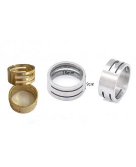 Anillo para anillas, Tamaño del producto: diámetro exterior 19mm, ancho 8,2mm (diámetro interior de aproximadamente 17mm)