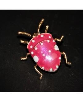Broche escarabajo 34x32mm