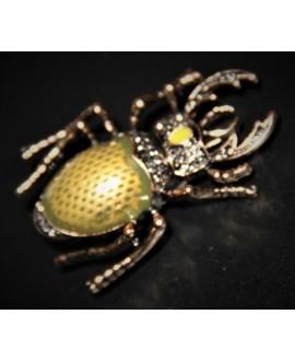 Broche escarabajo 45x30mm