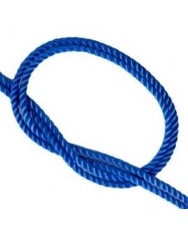 Cordón trendy tejido CHAMBRAY BLUE 2mm, venta por metro