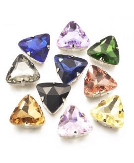 Diamante de imitación para coser   25x24x10mm, precio por unidad