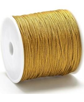 Hilo macramé (nylon) 0,8mm color camello, precio por carrete de 100 metros