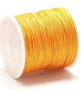 Hilo macramé (nylon) 0,8mm color amarillo, precio por carrete de 100 metros