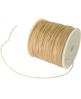 Hilo macramé (nylon) 0,8mm color BurlyWood, precio por carrete de 100 metros