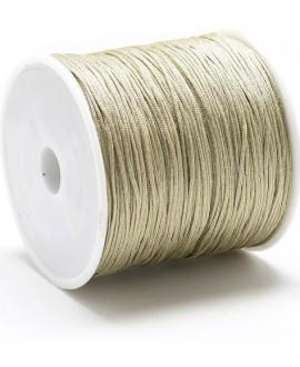 Hilo macramé (nylon) 0,8mm color caqui oscuro, precio por carrete de 100 metros