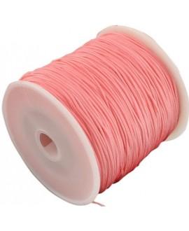 Hilo macramé (nylon) 0,8mm color Coral claro , precio por carrete de 100 metros
