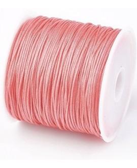 Hilo macramé (nylon) 0,8mm color salmón, precio por carrete de 45 metros