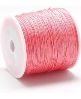 Hilo macramé (nylon) 0,8mm color salmón claro , precio por carrete de 100 metros