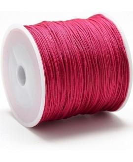 Hilo macramé (nylon) 0,8mm cereza, precio por carrete de 100 metros