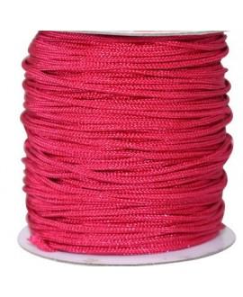Hilo macramé (nylon) 0,8mm cereza claro, precio por carrete de 100 metros