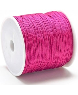 Hilo macramé (nylon) 0,8mm rojo violeta, precio por carrete de 100 metros