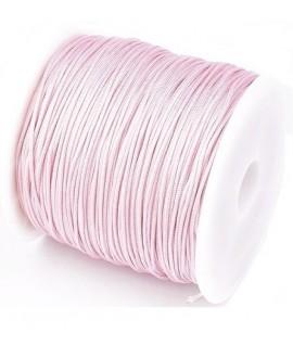 Hilo macramé (nylon) 0,8mm rosa, precio por carrete de 45 metros