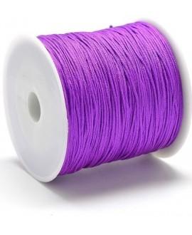 Hilo macramé (nylon) 0,8mm purpura, precio por carrete de 100 metros