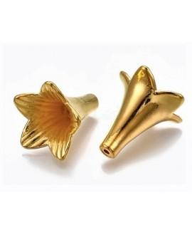 Capuchon CCB dorado 24x22,5x21,5mm paso 1,5mm, precio por 6 unidades