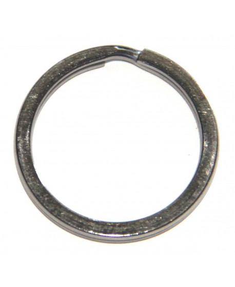 Anilla llavero metal, 30x30x3 acero inox