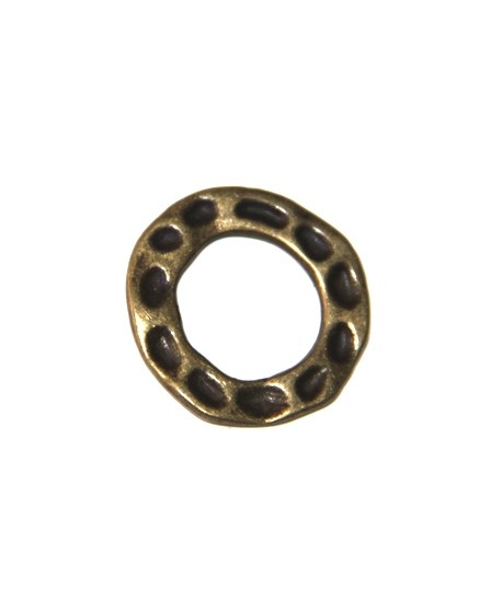 Aro bronce 25mm, ancho 5mm