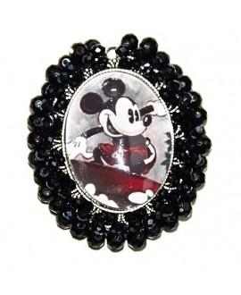 Medalla Mickey y Minnie 65x55mm