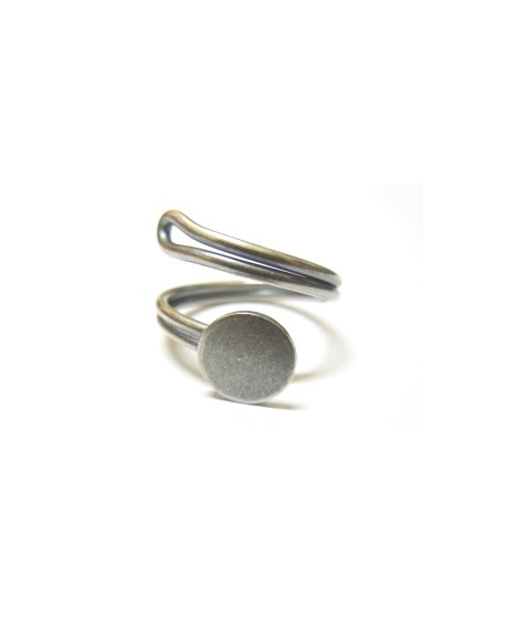 Base anillo espiral, 9mm