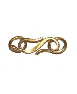 Cierres bronce hecho a mano en África largo 25mm