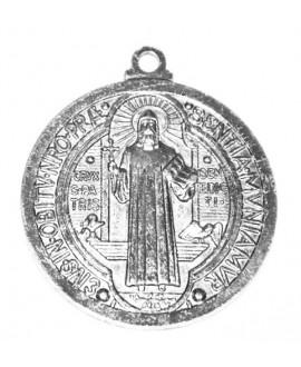 Colgante medalla religiosa 54mm, paso 4mm