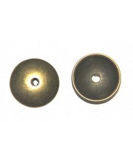 Capuchón 13x1mm paso 2mm bronce precio por 10 unidades