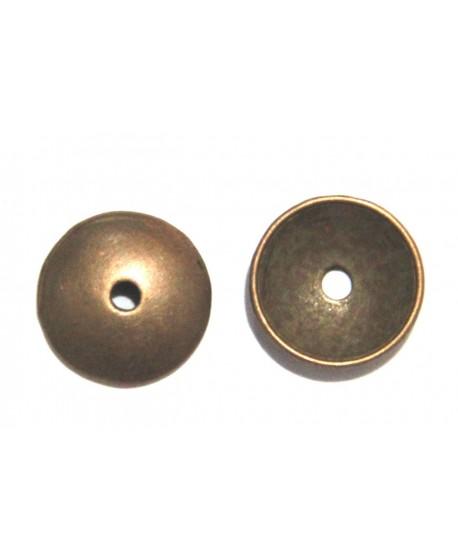 Capuchón 13x1mm paso 2mm cobre precio por 10 unidades