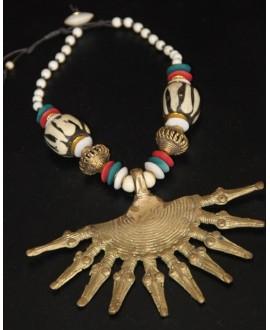 Collar  serpientes africanas
