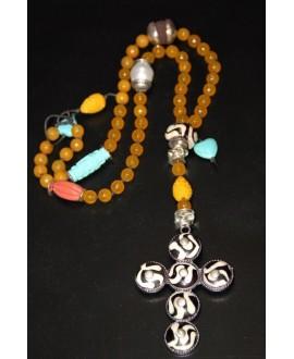 Rosario/collar jade