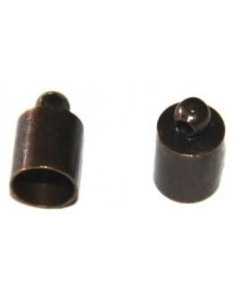 Terminal bronce 5mm, paso 1mm, precio por 10 unidades