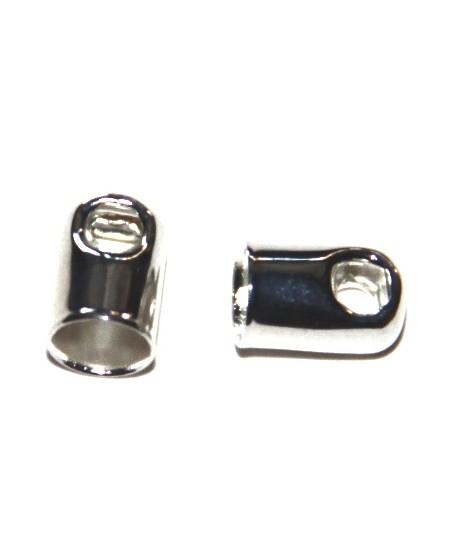 Terminal metal paso 4mm, precio por 10 unidades