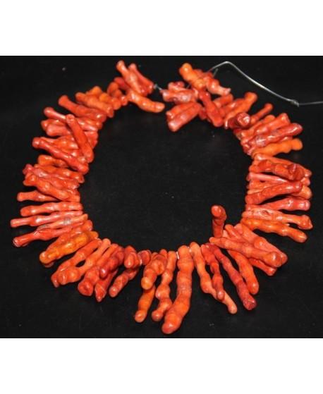Coral rama 15/60mm paso 1mm, precio por ristra de 42cm