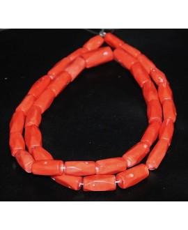 Coral tubos graduados 20/30x10/15mm paso 1mm, precio por ristra de 90cm