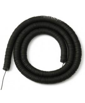 Cuentas redondas planas de hematita Black 6mm paso 1mm, precio por ristra de 40cm