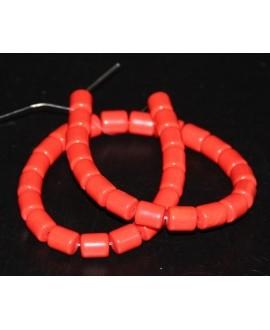Tubo resina símil cera de abeja 11x9mm paso 1mm, precio por tira de 38 cm