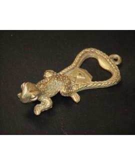 Collar rígido 3mm de bronce para colgantes, Ghana África. Hecho a mano