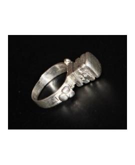 ANTIGUO anillo amuleto FULANI, joyería africana, Peul