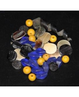 Mix- África bronce cuerno/vidrio reciclado