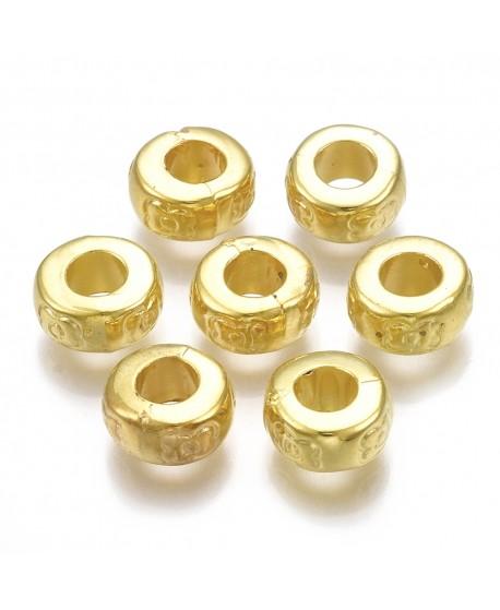 Cuentas CCB  8x4mm, paso 3,5mm, precio por 50 cuentas