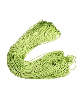 Hilo algodón pistacho 1,5mm, precio por 5 metros