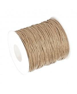 Hilo algodón BurlyWood 1,5mm, precio por 5 metros