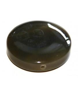 Cuentas jade moneda 45x10mm, paso 2mm